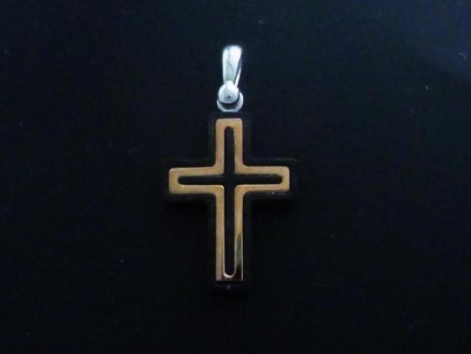 Elegant sterling silver cross
